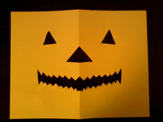 A simple Jack O Lantern design