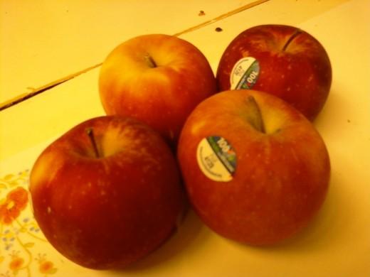 Yummy apples