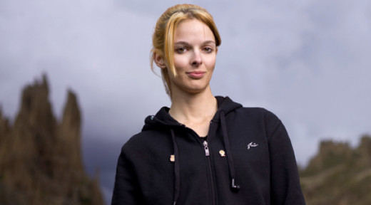 Lisa Kelly's profile on the History Channel, Ice Road Trucker's site.
