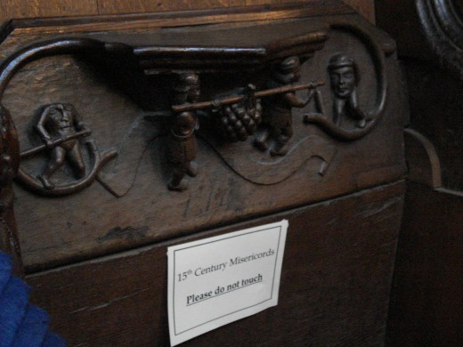 Fifteenth Century Misericords