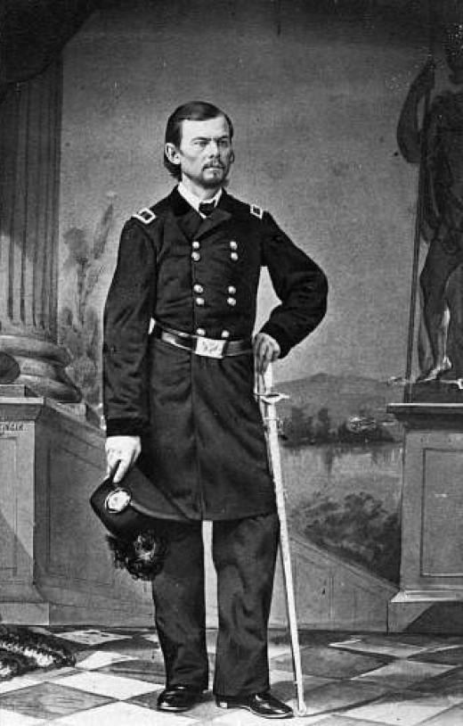 General Franz Sigel, full-length portrait, circa 1861