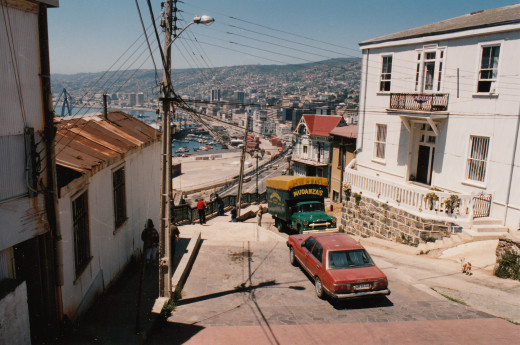 Valparaiso is located along Chile's central coast.