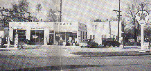 "This is the Texaco Station where Gloria Hathaway told mom that she was going to ""tell Mr. Elwood..."" about the cream soda mom took."