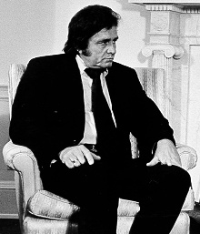 """Well, you wonder why I always dress in black, Why you never see bright colors on my back, And why does my appearance seem to have a somber tone. Well, there's a reason for the things that I have on."" From The Man In Black by Johnny Cash"