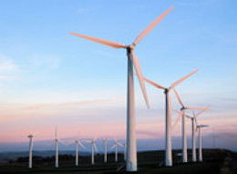 Wind farms are a clean, efficient source of renewable energy