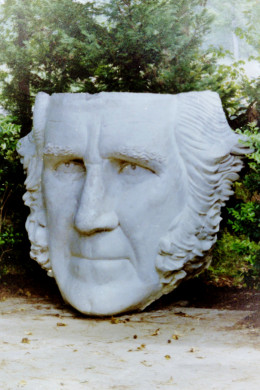 Sam Houston head / Huntsville