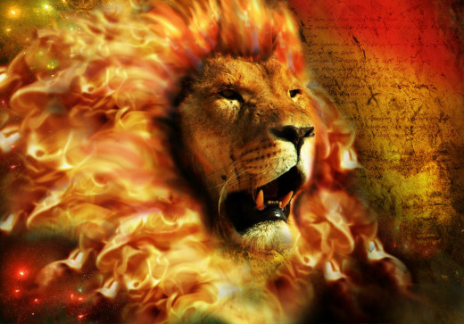The lion is Confident. Courageous. Perseveres. Loyal. Victorious.
