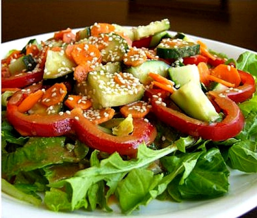 Homemade salad dressings can adorn a good salad and make it a fabulous one. Much better than the prepared dressings you can buy and much healthier.