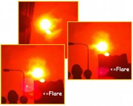 These images clearly show a second sun and were taken at noon October 6. 2012 in LA, California.