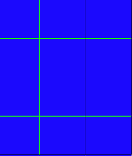Blank Multiplication Grid