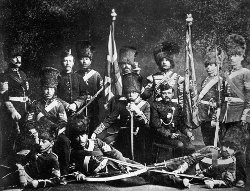 Governor-General's Foot Guards, circa 1875