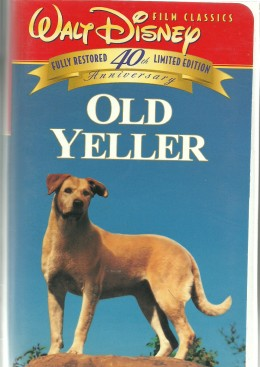 """Families, especially the younger members, learned about the loyalty of a dog at the paws of """"Old Yeller""""."""