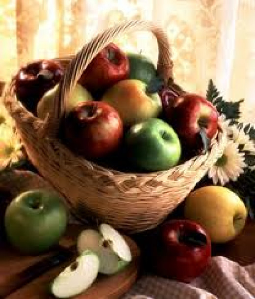 One of fall harvest's greatest gifts -- apples.
