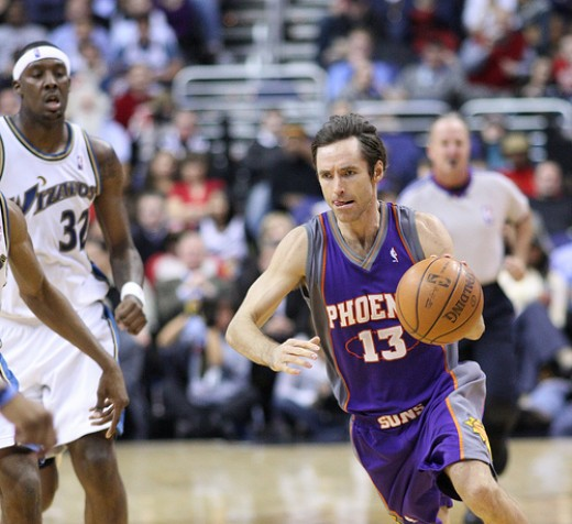 Steve Nash is a two time NBA MVP and is the greatest Canadian basketball player in history.