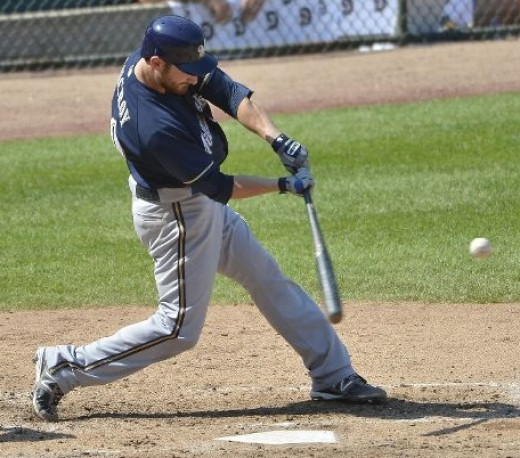 Jonathan Lucroy of the Milwaukee Brewers