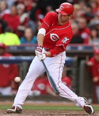 Joey Votto of the Cincinnati Red