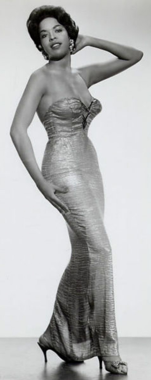 Della Reese glamor shot from the 1950s. Today, she is not only an actress, but also a pastor.