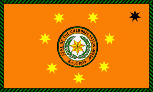 Flag of Cherokee Nation
