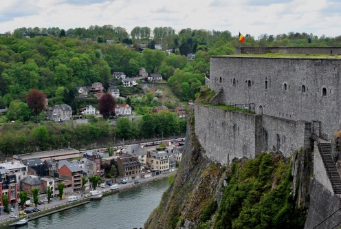 Dinant's fortress, built 1040