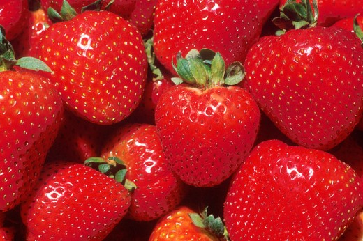 Strawberries - a surprising natural teeth whitener