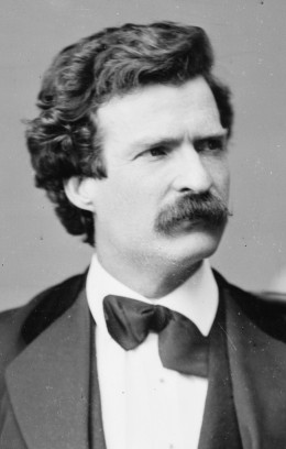 Mark Twain was a prominent American author of the 19th century.