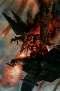 Heldrake Review and Tactics (Chaos Space Marines)