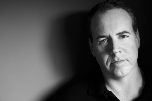 "Increasingly internet-infamous author Bret Easton Ellis looking ""cool."""