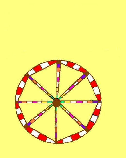 Ferris Wheel or Pinwheel