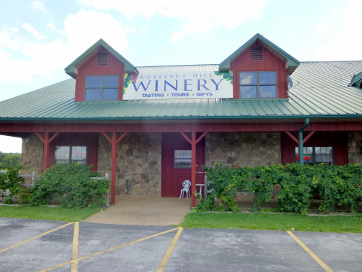 Chestnut Hills Winery, Crossville, Tennessee