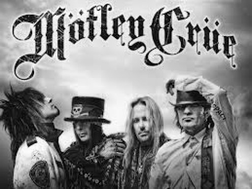 Motley Crüe consisted of Vince Neil, Nikki Sixx, Tommy Lee and Mick Mars. They have had many big concerts performed all over the world.