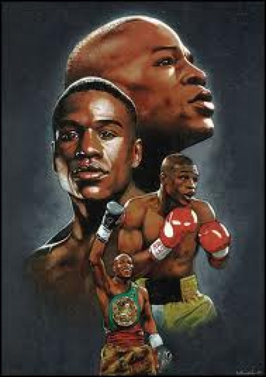 Floyd Mayweather has won titles in 5 weight divisions. He is an elite level boxer offensively and defensively.