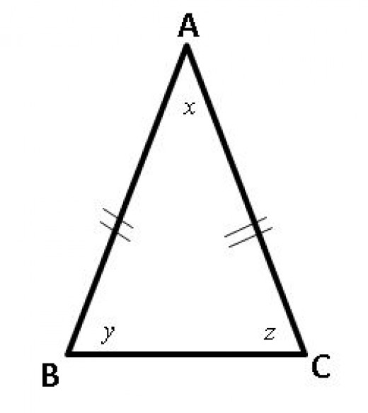 isosceles triangle problems for gmat