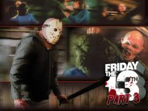 Friday The 13th was a film about Jason and his crazy mother. Jason drowned as a boy and his mother avenged his death at Camp Crystal lake.