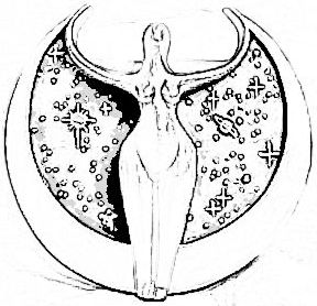 In most cultures and religions, the moon has always been associated with the feminine.