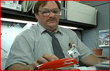 "The awkward sensibility and lack of self-control epitomized by Milton of ""Office Space"""
