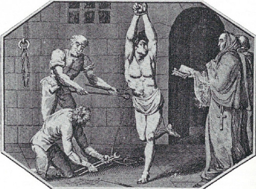 Doubting the existence of a deity led to torture and death during the Inquisition.