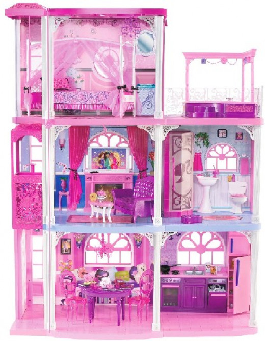 The Gallery For Barbie Girl Doll House
