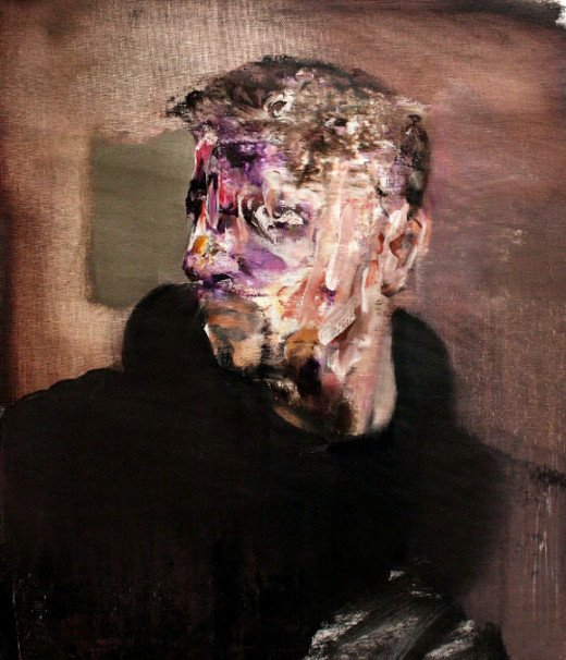 A Painting by renowned artist Adrian Ghenie