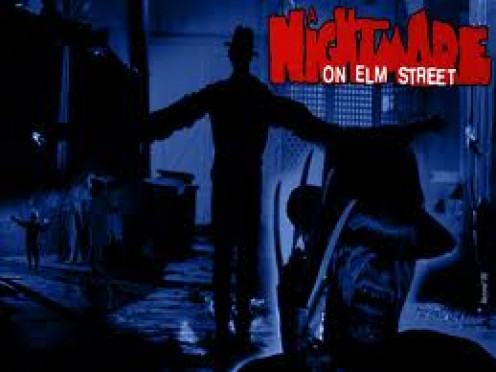 A Nightmare on Elm Street features Freddy Krueger who comes after you in your dreams or should I say your nightmares.