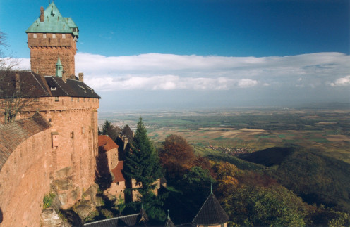 Haut-Kœnigsbourg Castle, Bas-Rhin, France