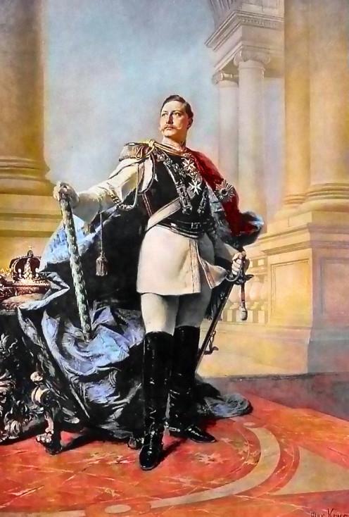 Kaiser Wilhelm II, by Max Koner