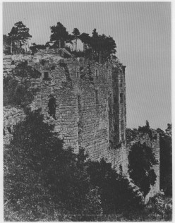 Haut-Koenigsburg in 1851 photographed by Le Seq