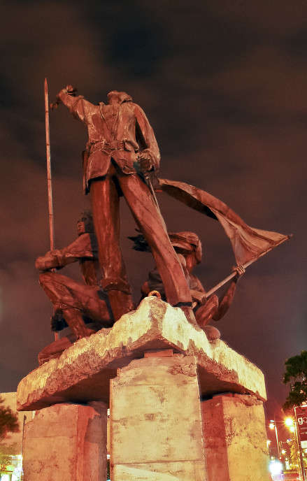 Ang Supremo is Ben-Hur G. Villanueva's tribute to Andres Bonifacio and the working class hero's struggle for the nation's freedom. Three-meters tall and made from brass and bronze, the statue is a silent tribute to the city's inspiring namesake.