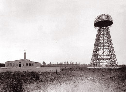 Wardenclyffe was a wireless power transmission facility developed by Telsa that linked sly and earth to capture and produce electrostatic power that could be converted to usable power.