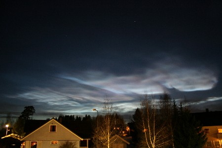 Noctilucent clouds are another sign of the power of the sun on events surrounding the sun.