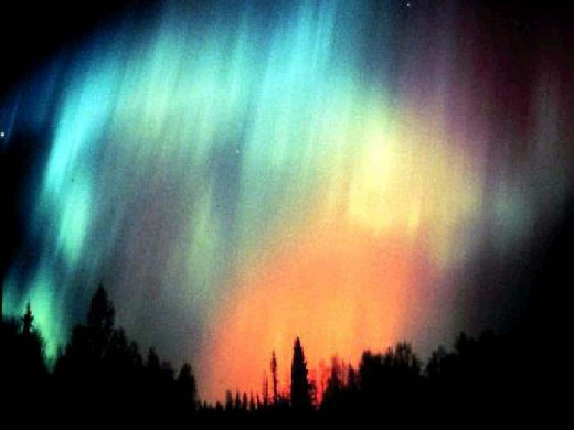 Aurora occur all the time, but cycle in intensity according to solar cycles and the intensity of incoming solar radiation.