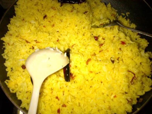 Lemon Rice is Ready