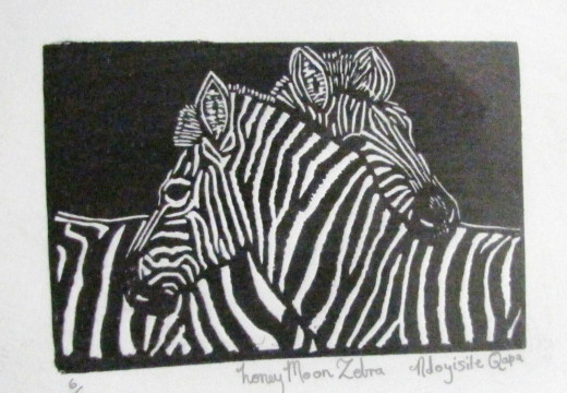 Honeymoon Zebra