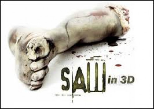 Saw 3D is the 7th film in the Saw franchise. A video game based on the Saw films was made for the Playstation 3. The is  a puzzle game made to make you think.