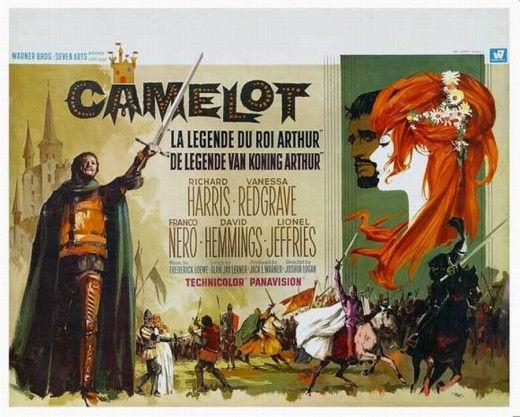 Camelot (1967) Belgian poster